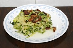 Healthy Habits - Zucchini w/ Garlic Delicious and soo low in calorie