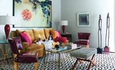 Jan Showers | InteriorDesign | LIVING ROOMS
