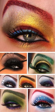 Eye makeup looks inspired by The Avengers. Which one should I wear? mykou