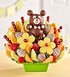 Fresh fruit delivery is fun with delicious fruit arrangements from Fruit Bouquets, fruit baskets to chocolate strawberries & more! Fruit Gifts, Edible Gifts, Chocolate Dipped Fruit, Chocolate Apples, Chocolate Art, Chocolate Strawberries, Chocolate Covered, Edible Fruit Arrangements, Edible Bouquets
