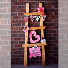 Love Ladder, Wood Creations Crafts {Vegas}