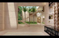 UAE EMIRATES HILLS - DUBAI UNITED ARAB EMIRATES - SAOTA Modern Tropical, Tropical Style, United Arab Emirates, Studio, Uae, Sweet Home, Stairs, Exterior, House Styles