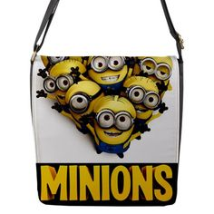 Minions Large Flap Closure Messenger Bag for only $24.99 at the link below.  http://www.blujay.com/?page=profile&profile_username=officer1963&catc=149001000