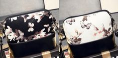 Floral Print Shell Shoulder Bag👛 Zip Around Wallet, Shells, Floral Prints, Shoulder Bag, Trends, Bags, Accessories, Fashion, Conch Shells