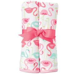 Mud Pie Flamingo Blanket