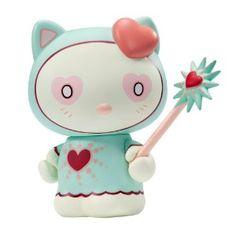Amazon.com: Kidrobot Magic Love Hello Kitty Collectible Vinyl Figure: Toys & Games