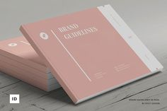 Explore over brand guide templates to kickstart your next design. These uniquely-crafted products are individually designed by independent creators to kickstart your next project and help bring your design ideas to life. Book Design Templates, Layout Template, Brochure Template, Print Templates, Brand Guidelines Design, Brand Guidelines Template, Design Brochure, Creative Brochure, Logo Design