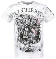 Alchemy England Read'em and Herren-T-Shirt - weiß Alchemy, Alan Lee, Peter Paul Rubens, Wayne Thiebaud, Principles Of Art, Batik, Auguste Rodin, Albrecht Durer, Renaissance Art