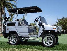 Hummer H2 Golf car