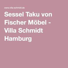 Sessel Taku von Fischer Möbel - Villa Schmidt Hamburg