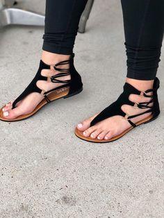 Pretty Sandals, Sexy Sandals, Girls Sandals, Cute Sandals, Bare Foot Sandals, Ankle Strap Sandals, Leather Sandals, Fashion Slippers, Fashion Sandals