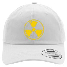 Radioactive Embroidered Cotton Twill Hat