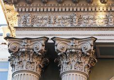 Композитный ордер. В основном Италия Рим. 15 в. и позднее.Церкви, монастыри, палаццо. Во Франции - Лувр, в Испании и Германии в основном церкви,соборы.