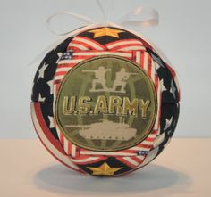 US Army Patriotic Decoration Ornament Christmas by craftcrazy4u, $12.00