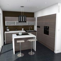 Cuisine professionnelle inox meuble cuisine stilo inox for Cuisine avec electromenager noir