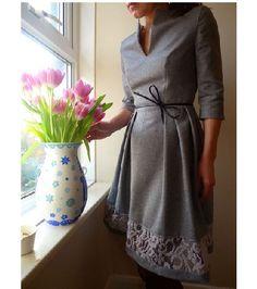 free pattern by Elise: Garden Party Dress