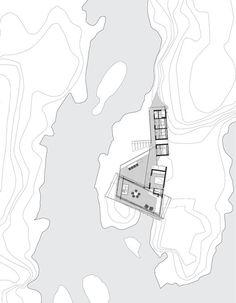 Lille Arøya,Site Plan