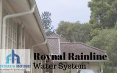 Home - Roynal Rainline - Gutter System - Jabodetabek Water Systems, Powder Coating, Mansions, Metal, Outdoor Decor, House, Moonlight, Home, Haus