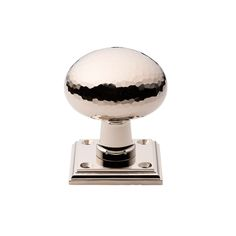 Round Knob On Square Rose -  Contemporary, Traditional, Transitional, Metal, Door by The Brass Center (=)