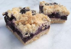 12 Days of Christmas #Blueberry #Crumb #Bars