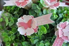 Flower Shop lollypop Stampin Up