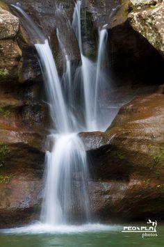 Old Man's Cave - Upper Falls - Hocking Hills - Ohio. 05/12/12. (c) PeoPla Photos, LLC