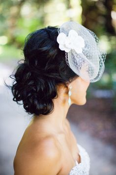 Updo perfection. #Hairstyles Photography: Janae Shields Photography - janaeshields.com Read More: http://www.stylemepretty.com/california-weddings/2014/05/07/elegant-outdoor-wedding-at-nestldown/
