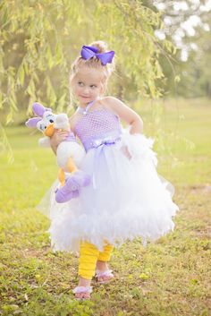 """Lovely Daisy Duck"" tutu dress"