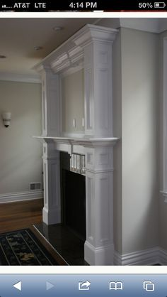 Fireplace makeover?