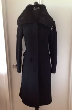 http://www.athenefashion.com/ebay/quick-ends-soon-fashion-womens-black-winter-coat-with-black-fur-slim-fit-wool-size-42/ nice Quick Ends Soon Fashion Women's black winter coat with black fur, slim fit, wool, size 42