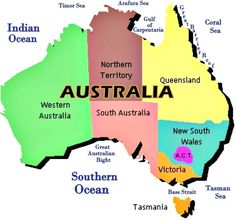 Australia Facts For Kids, Australia Capital, Australia Country, Australia Map, Queensland Australia, Western Australia, Ap Human Geography, Geography Map, World Geography