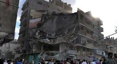 #haber #haberler #gazze #filistin #dünya Gazze'de Çöken Evde 4 Kişi Yaralandı.