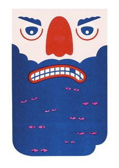 Harvey Hartley — Beard Poster.