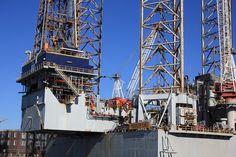 Netherlands Ijmuiden Drilling Rig Off Oil Image, Drilling Rig, Oil Rig, High Quality Images, Rigs, Alaska, Netherlands, Vacation, Wallpaper