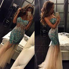 See through prom dresses mermaid prom dresses long prom dresses prom dresses 2017 sexy prom dresses Prom Dresses 2016, Prom Dresses Online, Mermaid Prom Dresses, Cheap Prom Dresses, Prom Party Dresses, Sexy Dresses, Beautiful Dresses, Party Gowns, Long Dresses