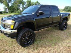 2012 Chevy Colorado 4x4 off road truck.
