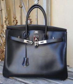 c6aed603d0 Black box 35cm Birkin  hermes Hermes Box