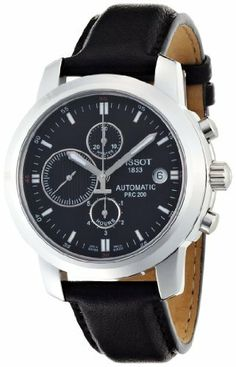 Tissot Men's T0144271605100 PRC200 Automatic Black Chronograph Dial Watch, http://www.amazon.com/dp/B0029MXJ1E/ref=cm_sw_r_pi_awdm_OpsJtb06EKG4T