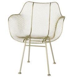 Rejuvenation Wire Chair, Silver