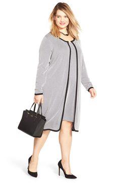 09382e1bc3e JUNAROSE  Chantal  Open Front Textured Long Cardigan (Plus Size) Plus Size  Business