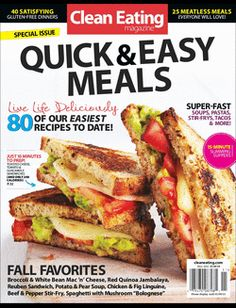 Quick & Easy Meals 2012