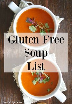 With fall quickly approaching, that means soup weather is coming!