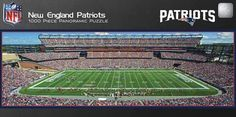 These beautiful panoramic images of NFL Stadiums are the foundation for these collectible, 1000pc puzzles. When assembled, the finished puzzle will be 13 x39. Suitable for framing and mounting when co