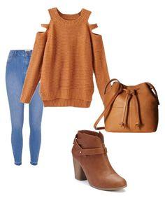 """""""Autumn"""" by diana-diiana on Polyvore featuring moda, LC Lauren Conrad, River Island e ECCO"""