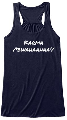 huge selection of 1e1d6 3ba4d Karma. How do you pronounce Karma Softball Mom, Baseball Mom Tank Top,  Baseball