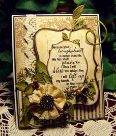 ~Lovingkindness~ by Blooms in a Box - Cards and Paper Crafts at Splitcoaststampers