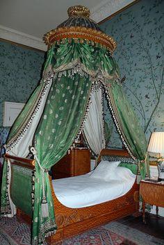 Bedroom. Chatsworth House.