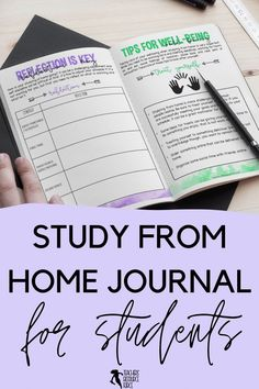 Help your students learn how to study from home with this self lead guide / journal that comes in both printable and digital options for your students. This resource is ready to use. It comes with a 17 page printable journal for them to fill in, and there is a digital version available too for them to type directly into the document, should they prefer. I hope this helps your students as they learn the discipline it takes to study from home!