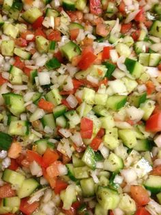 Baladi Salad Recipe - Best Home Chef #salad #vegan #summer