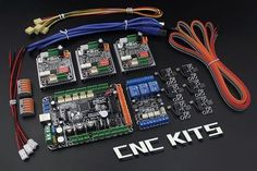 You can build 3 Axizs CNC Router with this electronics kits, such as build with openbuilds kits.